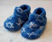 Hanukkah: Soft Sole Baby Shoes 0-3M