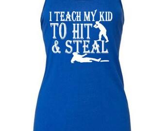 Baseball Mom Shirts - Baseball Mom - Baseball Shirt - Baseball Tank - Softball Mom Shirts - Sports Gift - Gift for her - Softball Shirts