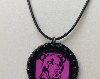 Pit Bull Pendants or Necklace ~Various Design Options~