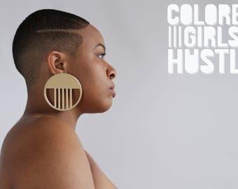 Elevation Earrings by Colored Girls Hustle