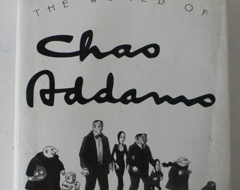 vintage book, The World of Chas Addams, Charles Addams retropective, 1992, free shipping, from Diz Has Neat Stuff