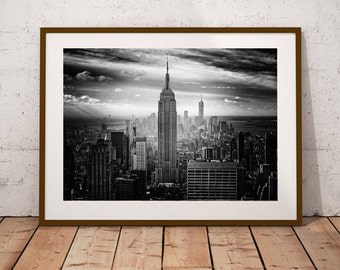 Manhattan New York City Print