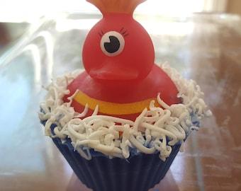 One-Eyed Monster Rubber Ducky in Glycerin Soap Bubble Bath