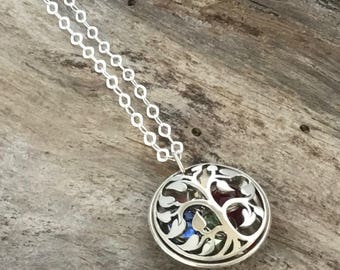 Grandmothers Birthstone Necklace / Family Tree Birthstone Necklace For Grandma / Grandmother Necklace / Gift For Grandma