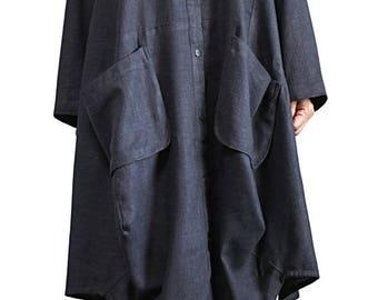 Soft Hemp Loose Cardigan(JNN-090-01)