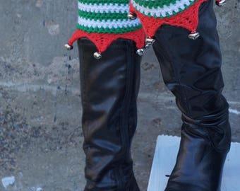 Crochet Pattern- Elf Boot Cuffs
