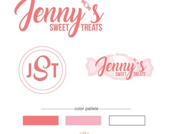 Custom Logo Design   Bakery Shop Logo   Ice Cream Shop Logo   Hi  Resolution