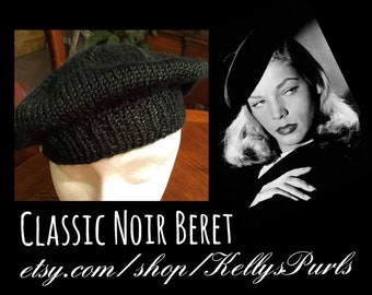 Chic Hand Knit Beret