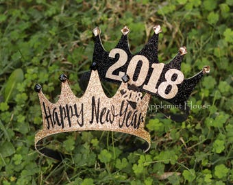 New Years Party Headband,New Years Crown,New Years Eve crown,New Years Eve Headband,Happy New Year Crown,Happy New Year Headband