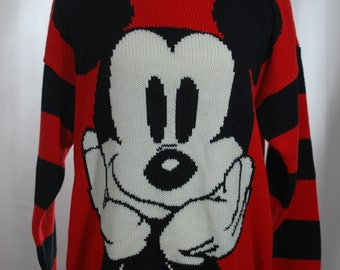 1990s Mickey Mouse Knit Sweater