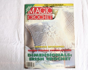 Magic Crochet Magazine - Number 100 - February 1996 - Vintage