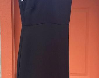 Vintage 1980's CDC Caren Desiree Company Designer Little Black Dress