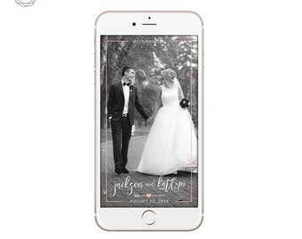 Just married Snapchat Wedding Filter, Wedding Geofilter, Wedding Snapchat Filter Pink, Rustic Wedding Snapchat Filter, Snapchat Geofilter