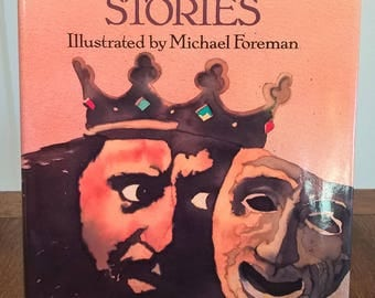 Shakespeare Stories I & II - Leon Garfield, Michael Foreman - First Edition Children's Books, Kids Books, Plays, Theater, Drama