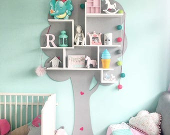 SUMMER TREE BOOKSHELF BabyUniqueCorn