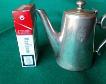 Antique individual Alpaca Coffee maker