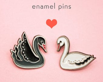 pastel goth jewelry friendship sets, gothic black and white jewelry, collar pins set, soft grunge pins, dark fashion tumblr, unique gifts