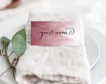 Place Cards/Reception Cards/Escort Cards - Wedded Bliss (Style 13758)