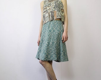 Vintage 70s Bouclé Skirt