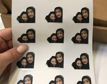 Customizable Face Sticker
