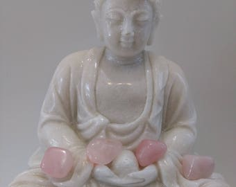 Quartz pink 13 gr stone heart chakra, healing, meditation, stone of love