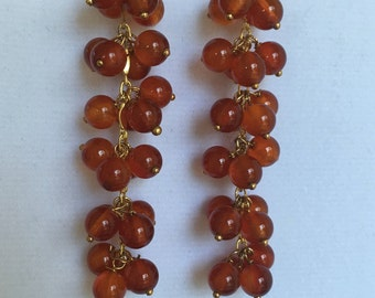 Cornelian Earings by Dobka