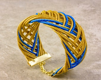 Lorena Golden Grass Bracelet