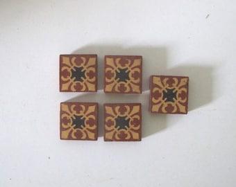 Terra Cotta Tiles Etsy