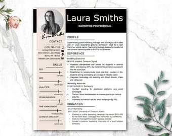 Modern Resume Templates | CV Templates | Professional resume | 1-3 Pages Resume Design + Cover Letter + References + Resume Writing Guide