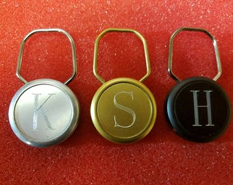 Vintage Personalized Key Fobs