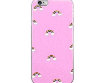 Pink Rainbows iPhone Case