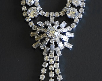 Fabulous 1960s Diamante Necklace // Gifts for Her // Vintage Jewellery.