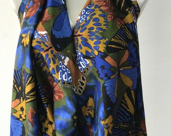sateen cotton print fabric multi colour 100% cotton Italian production 140cm wide