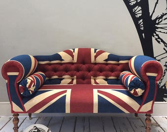 Winston Union Jack Small Double Ended Sofa