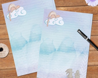 Dreamy Girl  - A5 size - 12 sheets