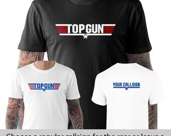 Top Gun Maverick Goose Stag Do Fancy Dress Personalized Callsign T Shirt