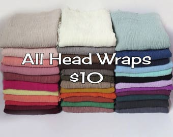 Head Wraps - Solid Color