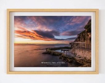 Bronte Beach Sunrise -  Photography Print