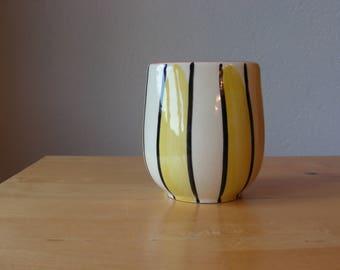 Steuler striped vase vintage