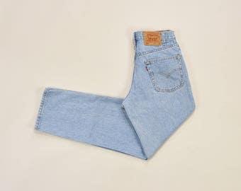 Levis 550 Jeans, Vintage Levis Jeans, 90s Mom Jeans, High Waisted Jeans, Relaxed Fit Levis, 90s Boyfriend Jeans, Levis Mens Jeans 31 x 32
