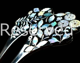 Reserved Reserved Reserved Japanese Hair Kanzashi Raden | Kanzashi Raden  Hair Japanese Antique | Hair Japanese Antique Kanzashi | Hair