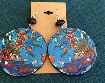 Chachiuhtlicue Earrings