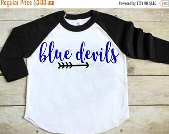 SALE- Blue Devils svg - Arrow svg - blue devils - cut file - iron on - football mom svg - printable iron on - digital download - dxf - clipa