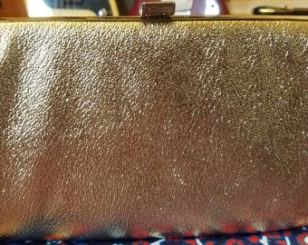 1960s Gold Clasp Purse