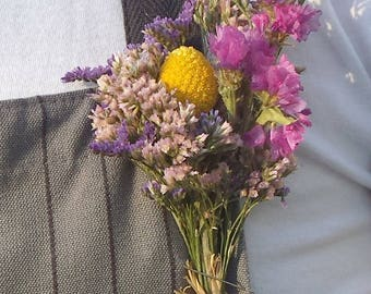 Dried flower wedding boutonnieres, Buttonhole, Groom Wedding, Groomsmen, Wedding Flowers