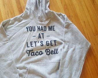 Taco Bell Hooded Sweatshirt