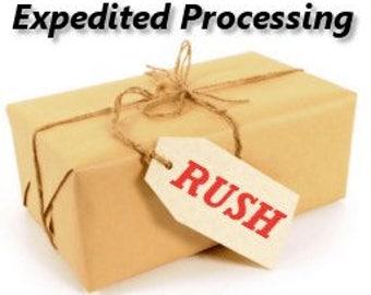 Expidited processing