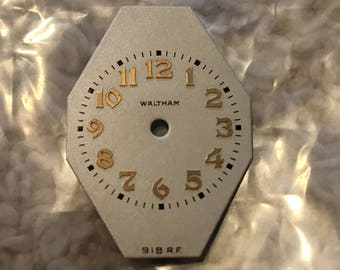 Waltham 918RF Wrist Watch Dial New Old Stock