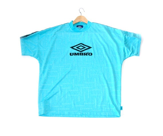 Rare 90s Blue Umbro Football tee