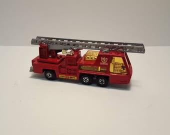 1972 Matchbox Super Kings Fire Truck